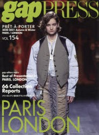 GAP PRESS VOL.154 20-21 A&W PARIS,LONDON