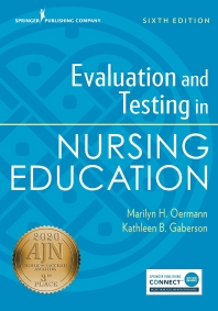 [해외]Evaluation and Testing in Nursing Education, Sixth Edition