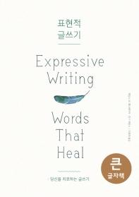 표현적 글쓰기(큰글자책)