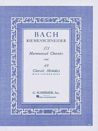 [해외]371 Harmonized Chorales and 69 Chorale Melodies with Figured Bass