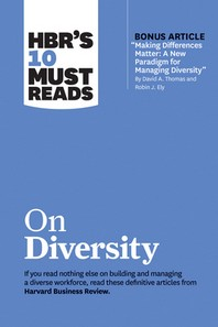 "[해외]Hbr's 10 Must Reads on Diversity (with Bonus Article ""making Differences Matter (Hardcover)"