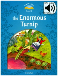 ClassicTales Level. 1: The Enormous Turnip AudioPack