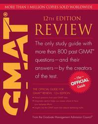 Official Guide for Gmat Review, 12/e