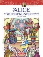 [해외]Creative Haven Alice in Wonderland Designs Coloring Book