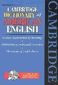 CAMBRIDGE DICTIONARY OF AMERICAN ENGLISH(S/W포함) [CD 포함]   / 상현서림 ☞ 서고위치:MT 3 *[구매하시면 품절로 표기됩니다]