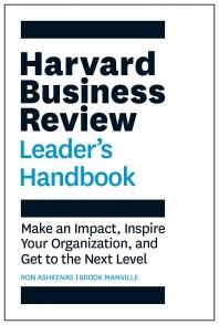 [해외]The Harvard Business Review Leader's Handbook