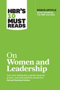 "[해외]Hbr's 10 Must Reads on Women and Leadership (with Bonus Article ""sheryl Sandberg (Hardcover)"