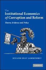 [해외]The Institutional Economics of Corruption and Reform (Hardcover)