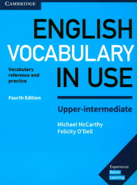 [해외]English Vocabulary in Use Upper-Intermediate Book with Answers