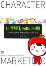 HI 캐릭터 HELLO 마케팅