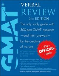 Official Guide for Gmat Verbal Review, 2/e