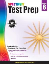 Spectrum Test Prep Grade. 8