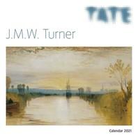 [해외]Tate - J.M.W. Turner Wall Calendar 2021 (Art Calendar)