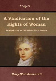 [해외]A Vindication of the Rights of Woman (Hardcover)