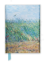 Van Gogh: Wheat Field with a Lark (Foiled Journal) 미사용