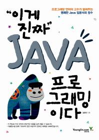 이게 진짜 Java 프로그래밍이다