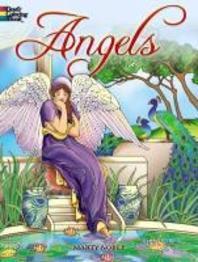 [해외]Angels Coloring Book