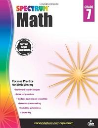 Spectrum Math Grade. 7