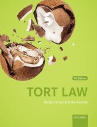 [해외]Tort Law