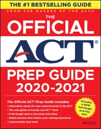 The Official ACT Prep Guide 2020 - 2021, (Book + Bonus Online Content)