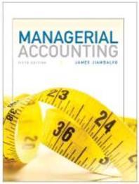 Managerial Accounting #