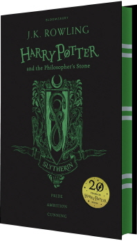 Harry Potter and the Philosopher's Stone Book 1 - Slytherin Edition (영국판)