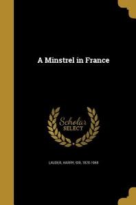 [해외]A Minstrel in France (Paperback)