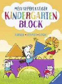 Mein superlustiger Kindergarten-Block