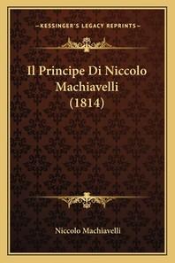 [해외]Il Principe Di Niccolo Machiavelli (1814)