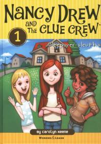 Nancy Drew and the Clue Crew. 1(낸시드류와 클루크루 탐정단): Sleepover Sleuths(영한대역판)(낸시 드류