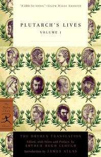 [보유]Plutarch's Lives, Volume 1