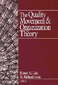 The Quality Movement and Organization Theory