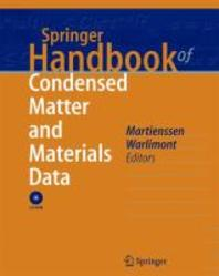 Springer Handbook of Condensed Matter and Materials Data [With CDROM]