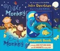 [해외]Night Monkey, Day Monkey Magnet Book (Board Books)