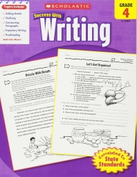 SCHOLASTIC SUCCESS WITH WRITING GRADE. 4