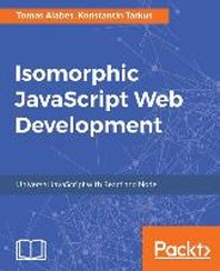 [해외]Isomorphic JavaScript Web Development (Paperback)