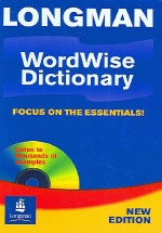 LONGMAN WORDWISE DICTIONARY (CD-ROM 포함) CD없음 / 케이스 있음