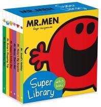Mr. Men: Super Library (6 board books)