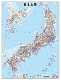 일본전도(코팅원지)