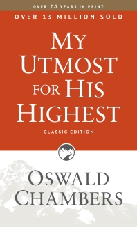 [해외]My Utmost for His Highest (Paperback)