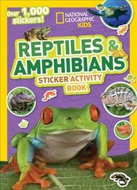 [해외]National Geographic Kids Reptiles and Amphibians Sticker Activity Book