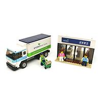 교보문고 미니샵: 바로드림 & 배송트럭