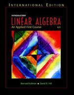 Introductory Linear Algebra 8/E: Applied First Course (Paperback)
