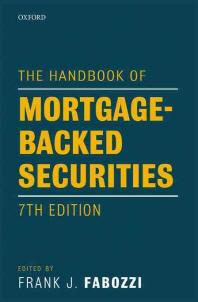 [해외]The Handbook of Mortgage-Backed Securities
