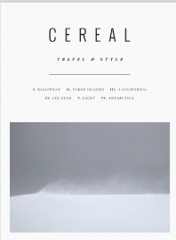 Cereal Magazine, Vol 12