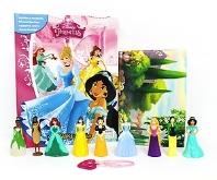 Disney Princess (Hardcover, 미니피규어 12개 포함)