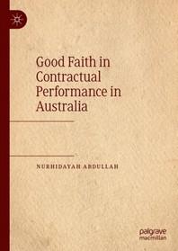 [해외]Good Faith in Contractual Performance in Australia