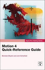 Motion 4 Quick-Reference Guide