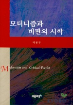 모더니즘과 비판의 시학 /초판본/38