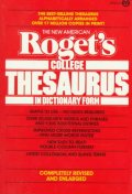 New American Roget's Colledge Thesaurus in Dictionary